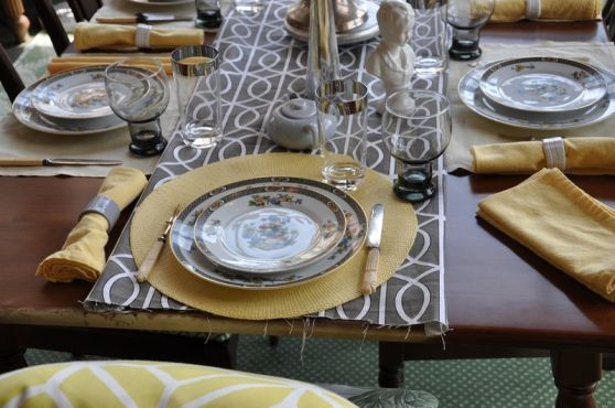 DIFFA tablescapes