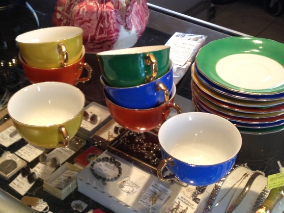 Bright Teacups